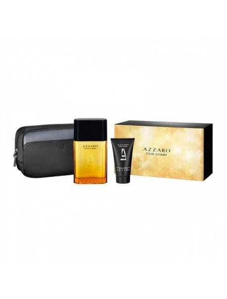 Azzaro Pour Homme Gift Set EDT 50ml + Shower Gel 100ml + Travel Bag