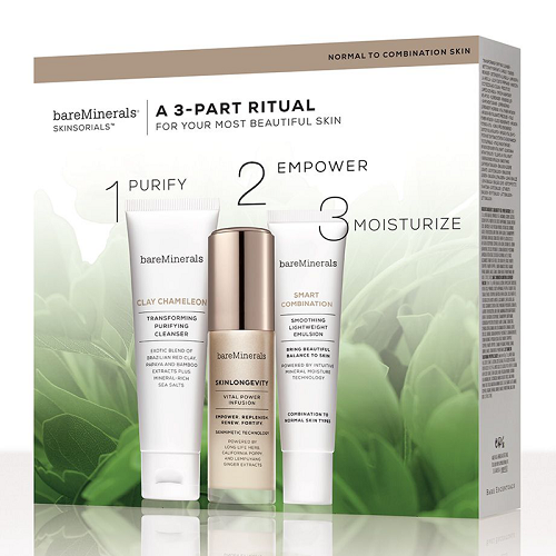 bareMinerals Skinsorials A 3-Part Ritual Gift Set - Normal To Combination Skin