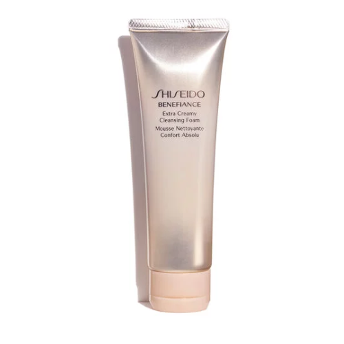 Shiseido Benefiance Extra Creamy Cleansing Foam 50ml (Unboxed)