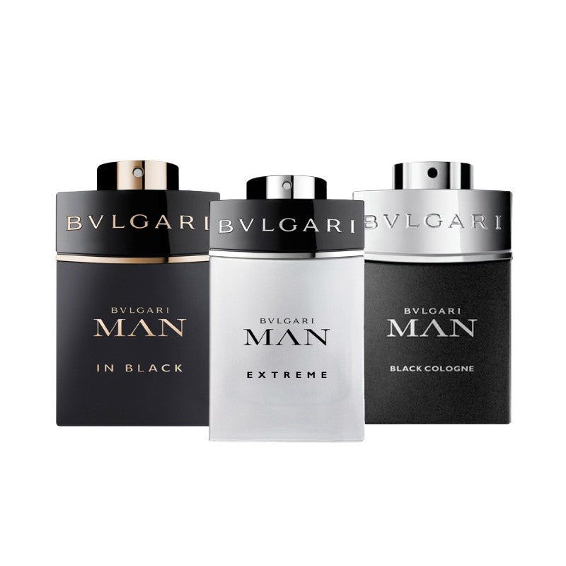 Bvlgari Man Gift Set Black 15ml EDP + Extreme 15ml EDT + Black Cologne 15ml EDT
