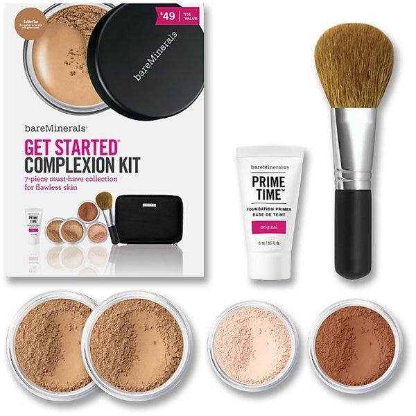Bare Minerals Get Started Complexion Kit 7-Piece