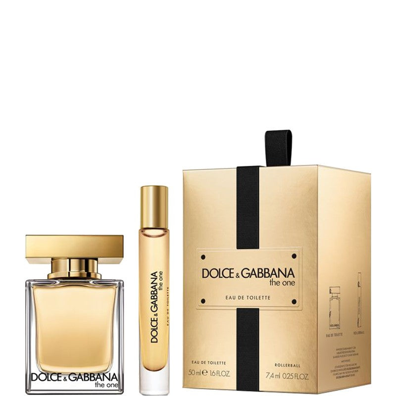 Dolce & Gabbana The One Gift Set 50ml EDT + 7.4ml Rollerball