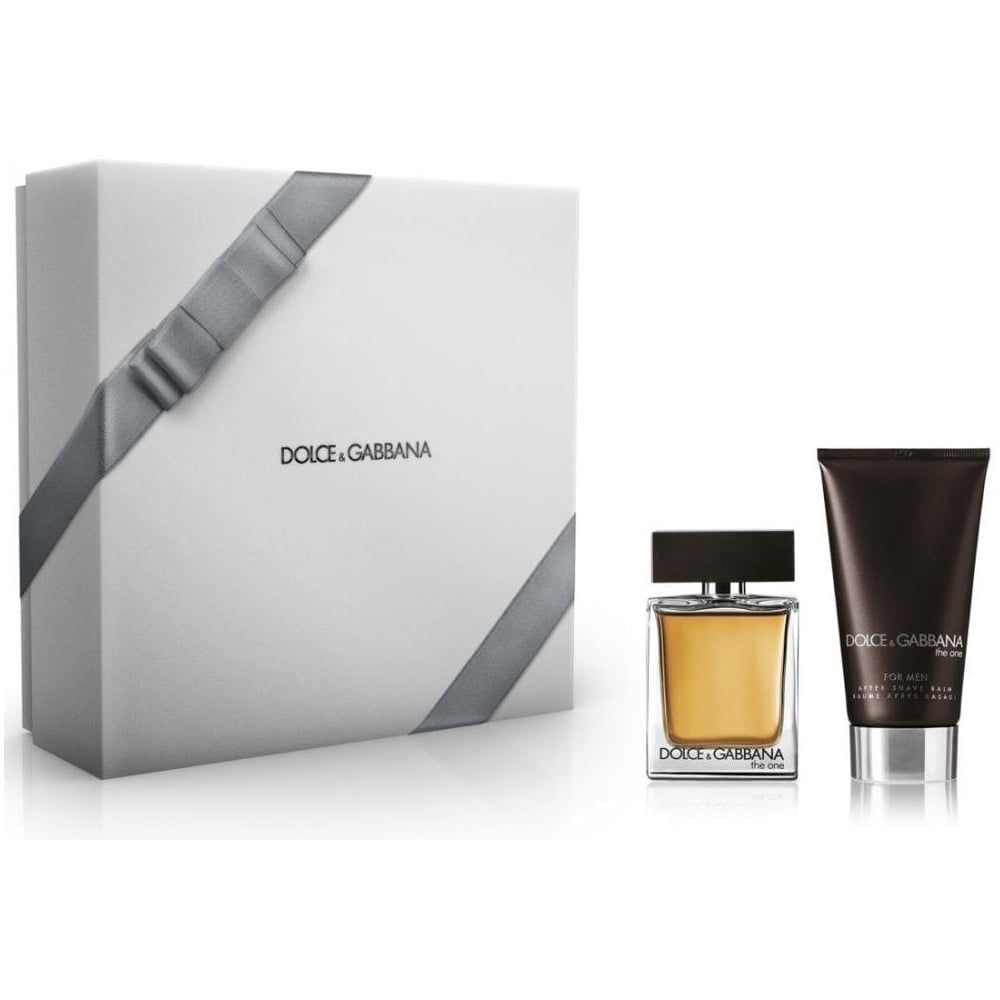 Dolce & Gabbana The One 2 Pieces Gift Set 50ml EDT + 75ml Aftershave Balm