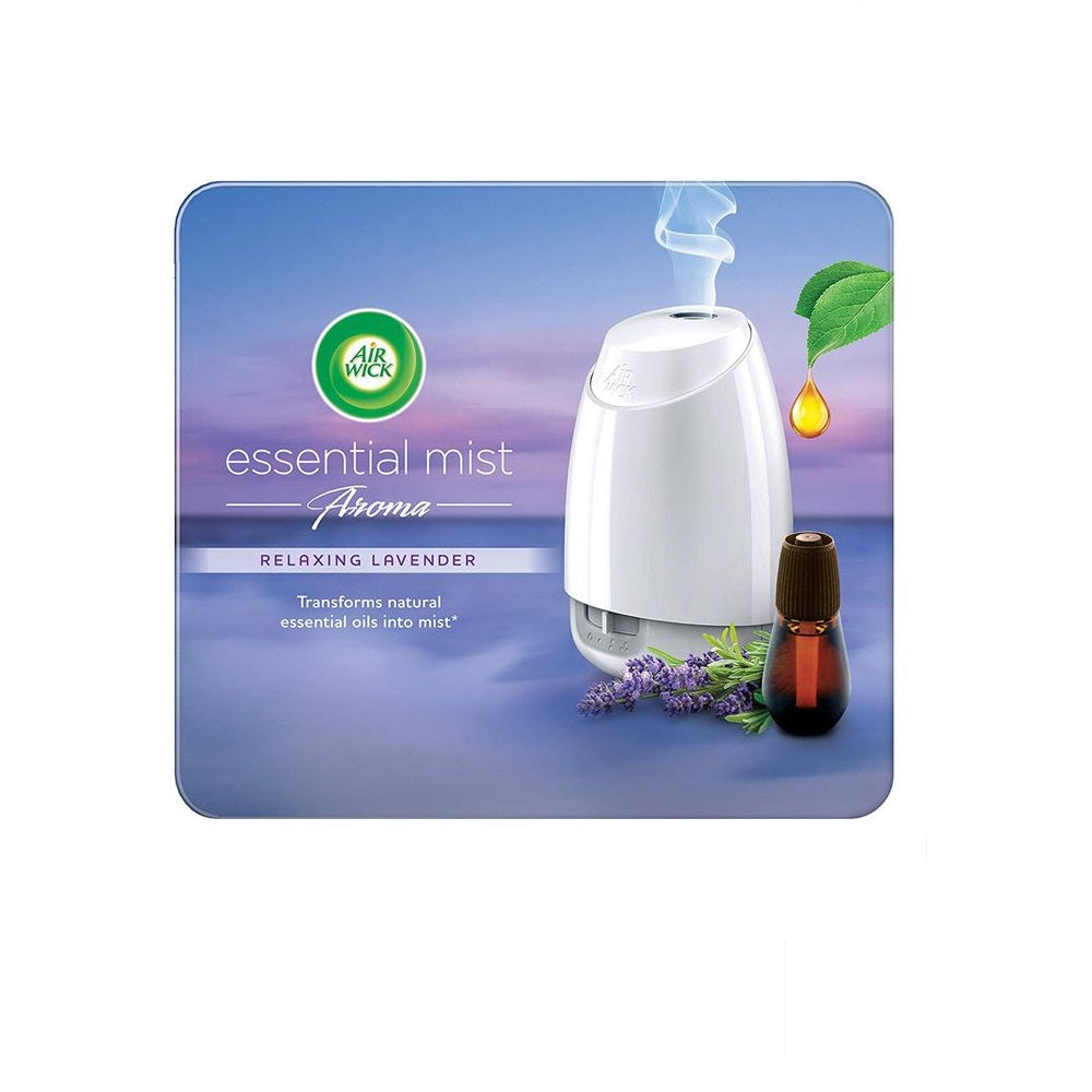 Air Wick Essential Mist Aroma Kit 20ml (Diffuser + Refill)