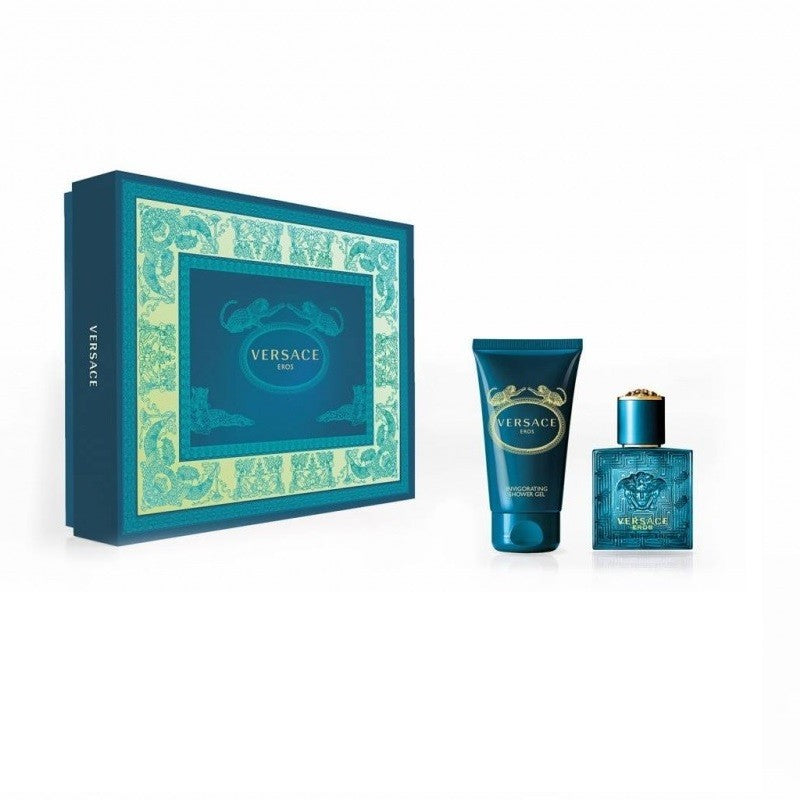 Versace Eros Gift Set 30ml EDT + 50ml Shower Gel