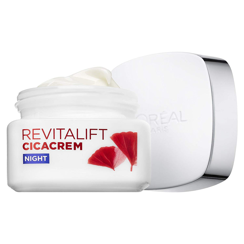 L'oreal Revitalift Cicacrem Anti- Wrinkle + Extra Recovery Night Cream 50ml