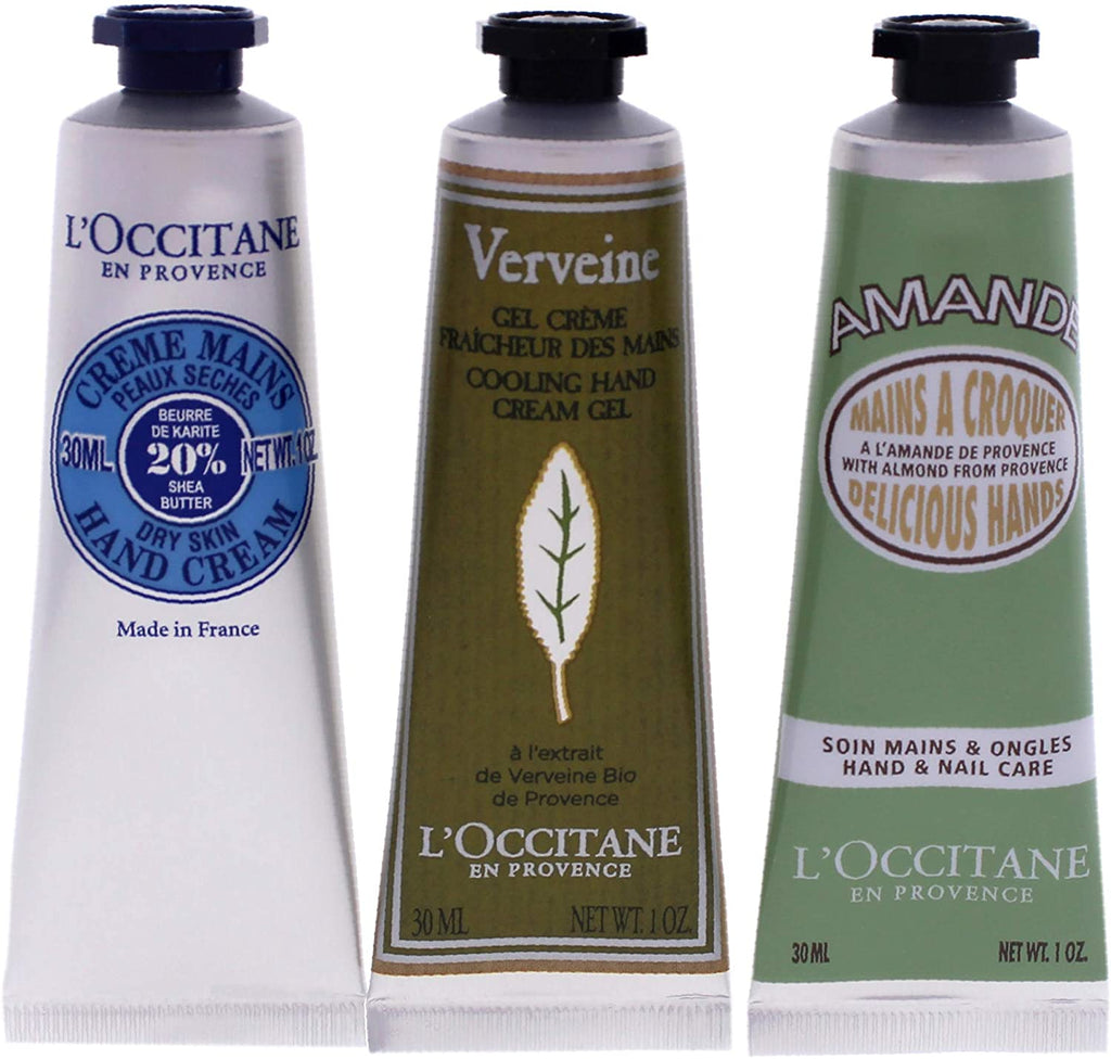 L'occitane Hand Cream 3 Piece Gift Set