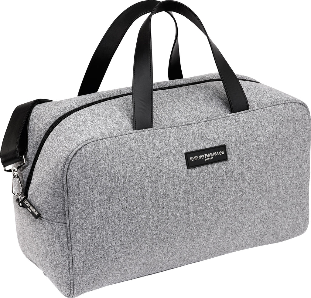 Emporio Armani Holdall, Gym, Travel, Sport , Weekend Grey Bag
