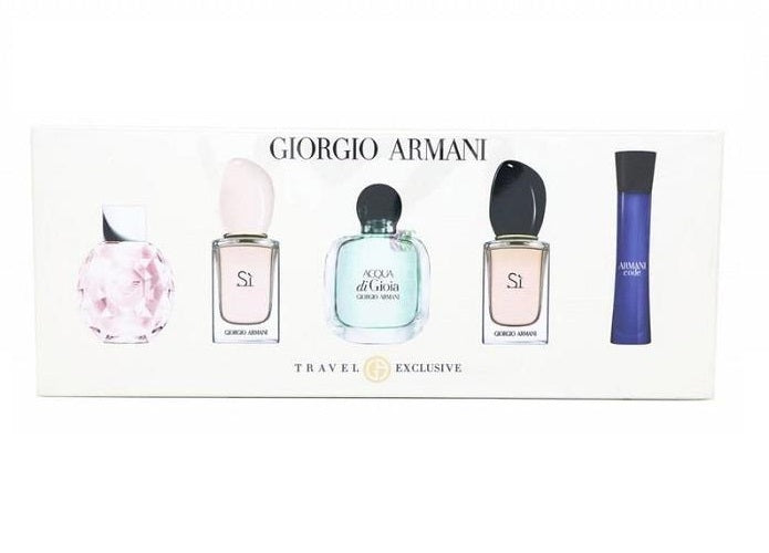 Giorgio Armani Travel Exclusive Miniature Gift Set for Her