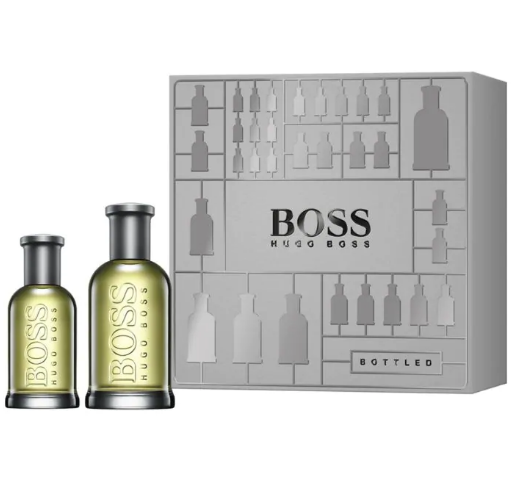 Hugo Boss Bottled Eau De Toilette Spray 100ml & 30ml Gift Set