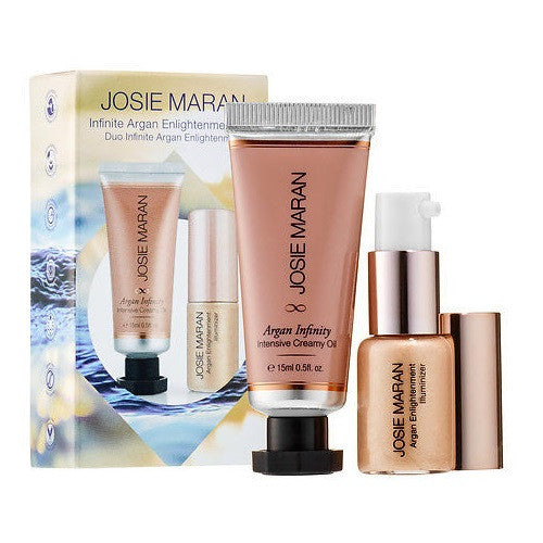 Josie Maran Infinite Argan Enlightenment Duo Set - Look Incredible