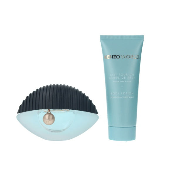 Kenzo World Gift Set 50ml EDP + Perfumed Body Lotion 75ml
