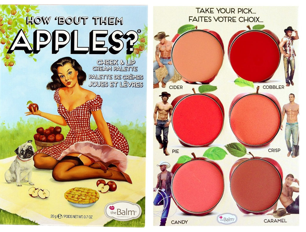 The Balm How Bout Them Apples Lip And Cheek Palette