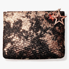 MAC Sparkly Pouch With Star-Accented Zipper