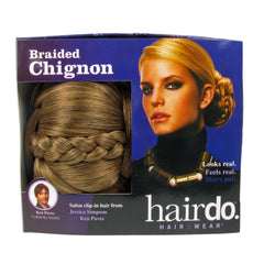 Jessica Simpson Hairdo Braided Chignon Clip In Hair Bun