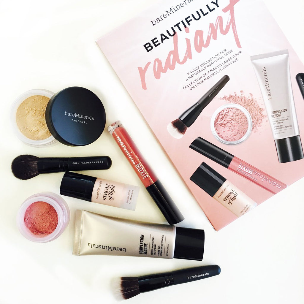 BareMinerals Beautifully Radiant 7 Piece Collection Set