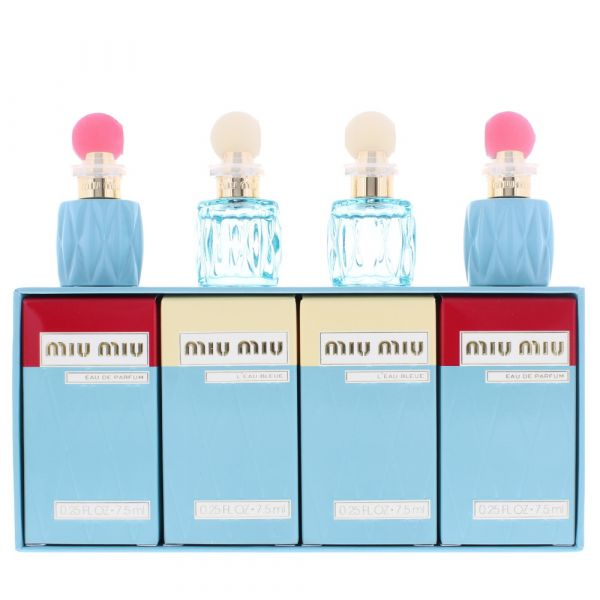 Miu Miu Miniatures 4 Pieces Gift Set EDP 7.5ml