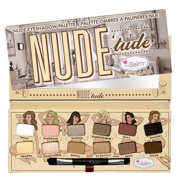 The Balm Nude Tude Nude Eyeshadow Palette - Look Incredible