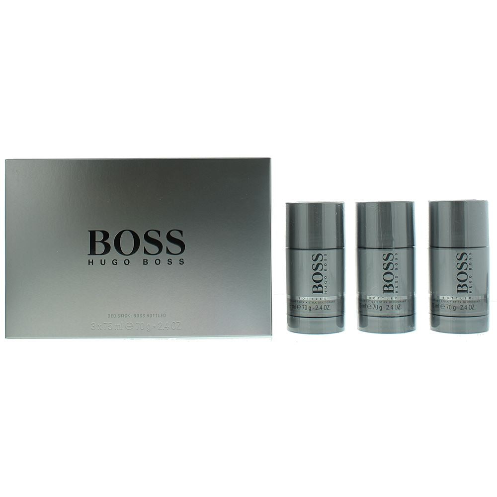 Hugo Boss Boss Bottled Deodorant Stick Gift Set 3 x 75ml
