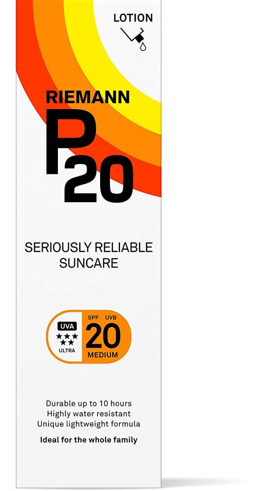 Riemann P20 Seriously Reliable Suncare SPF20 Lotion 100ml