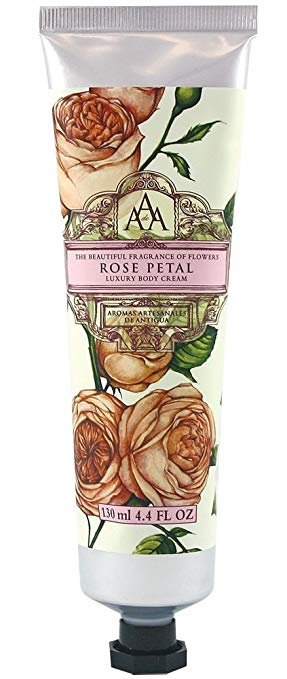 Aromas Artisanales De Antigua Rose Petal Hand Cream 60ml