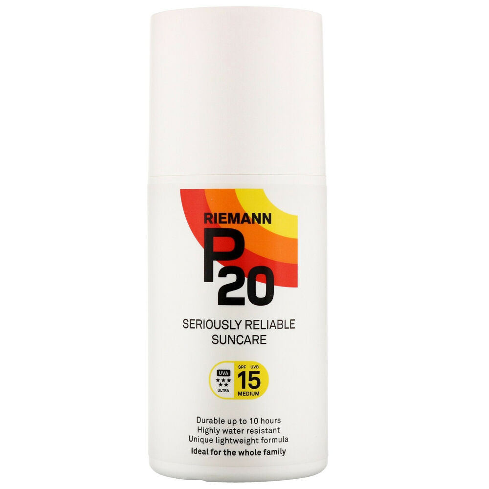 Riemann P20 Once a Day Sun Protection Spray SPF15 Medium 200ml