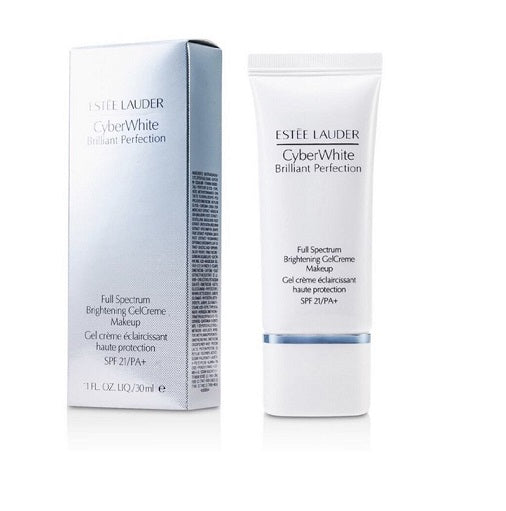 Estee Lauder Cyber White Full Spectrum Brightening GelCreme Makeup SPF21 30ml - Look Incredible