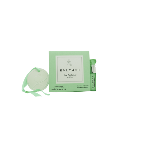 Bvlgari Eau Parfumee Au The Vert Gift Set 10ml  EDC + Perfumable Ceramic