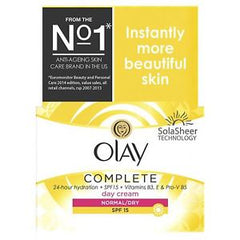 Olay Complete 3-in-1 Moisturiser Day Cream SPF15 normal/dry 50ml