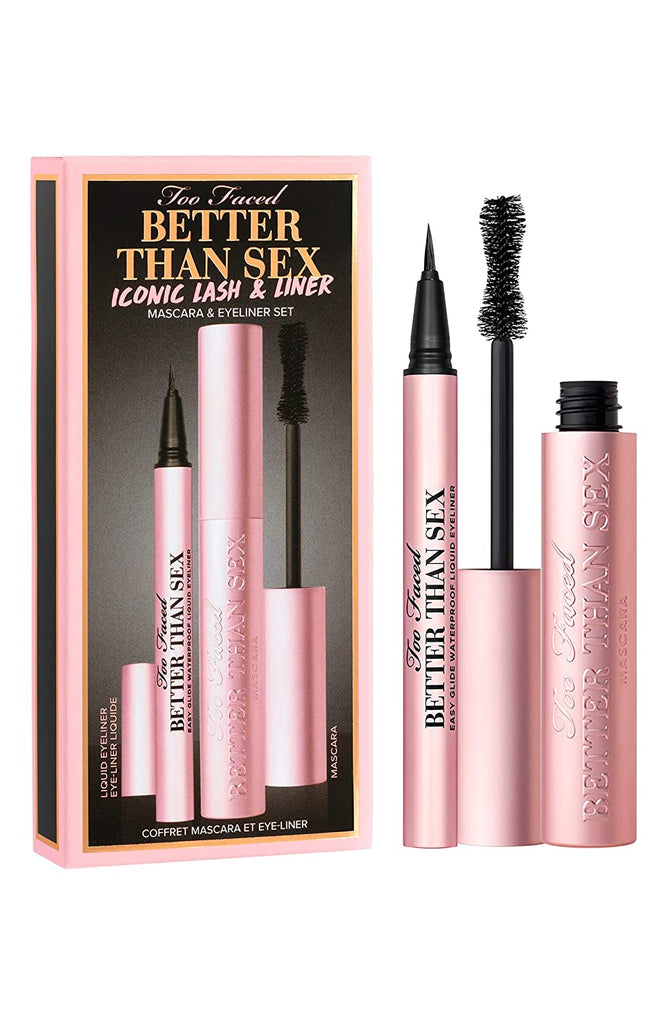 Too Faced Better Than Sex Iconic Lash & Liner Mascara & Eyeliner Set