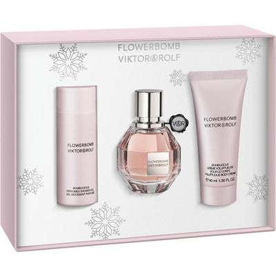 Viktor & Rolf Flowerbomb Gift Set EDP 30ml + Shower Gel 50ml + Body Cream 40ml