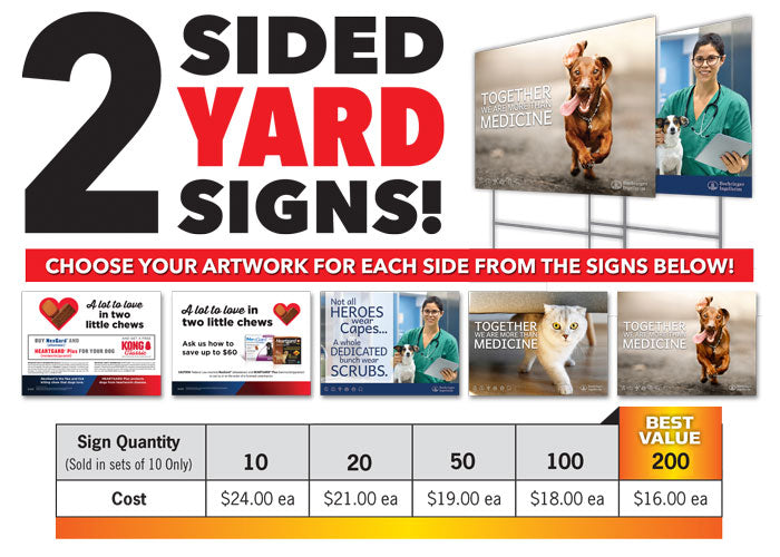 Yard Signs (2 Sided)