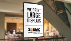 22″ x 28″ Large Format Display