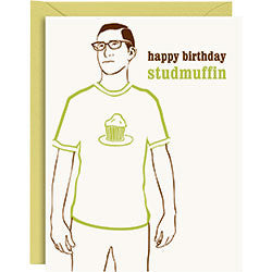 Studmuffin Birthday Card