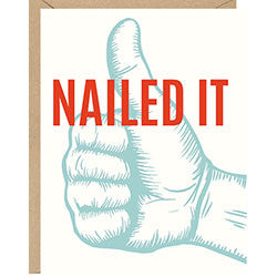 Nailed It - Good Job Card