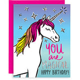 """You are Magical"" Birthday Card"