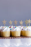 Laser Cut Cupcake Topper - Star