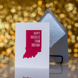 Trendy Holiday Cards // Indiana Holiday