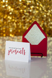 Funny Holiday Cards // You're better than presents