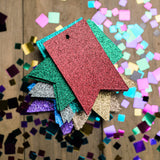 HOLIDAY Glitter Gift Tags