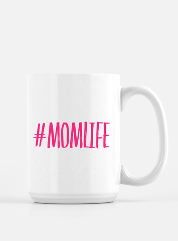 Trendy Coffee Mug - #MOMLIFE