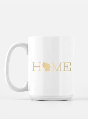 Trendy Foil Coffee Mug - HOME