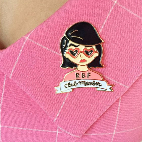Resting Bitch Face Enamel Pin