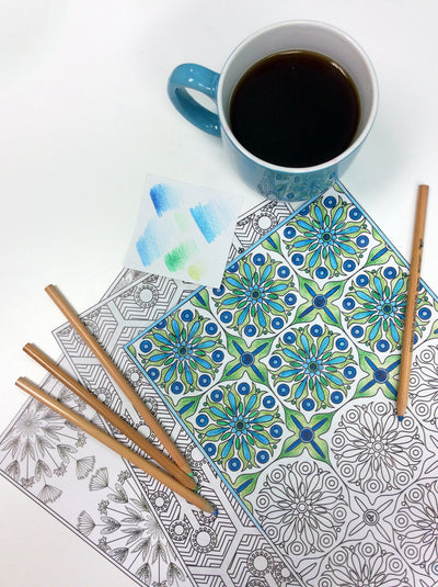 5 Ways Coloring Can Improve Your Life + Free Printables!