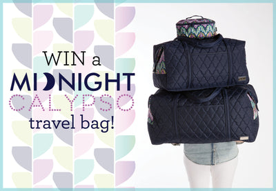 {Contest Closed} Enter to Win a Midnight Calypso Travel Bag