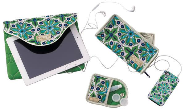 tablet cover, wallet and contact lens carrier