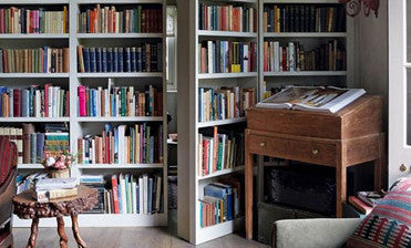 We're Fawning Over : Book-lined Walls