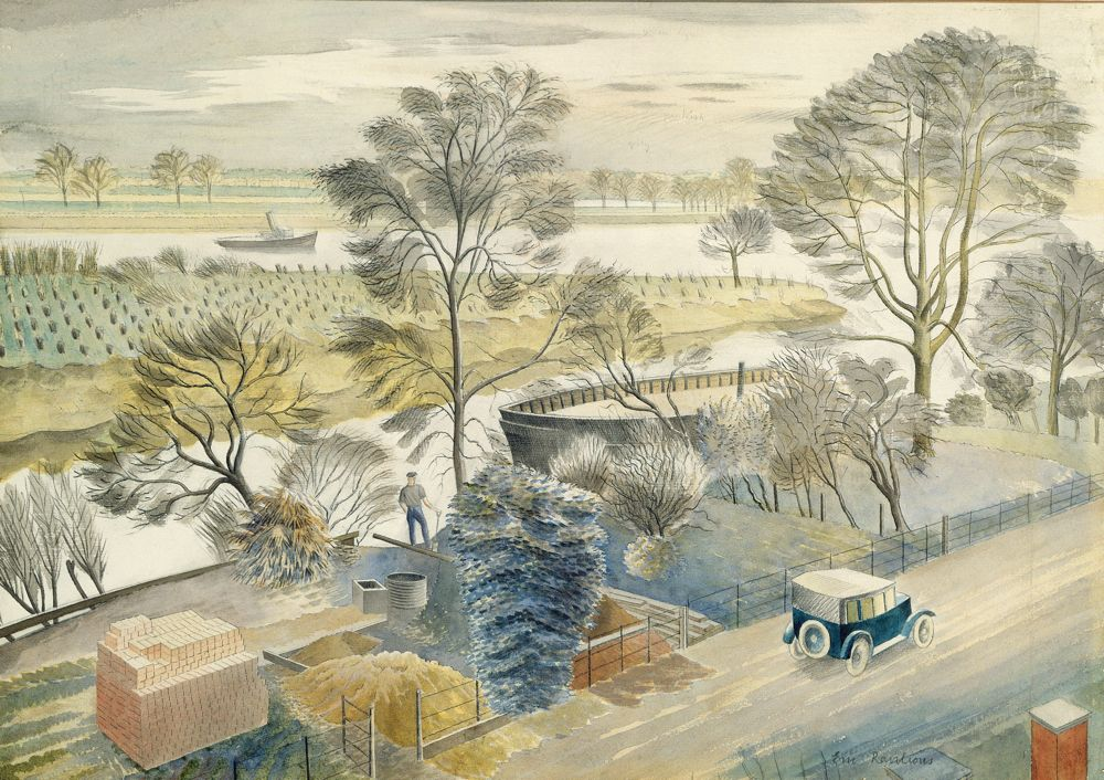 We're Fawning Over : The Detailed Art of Eric Ravilious