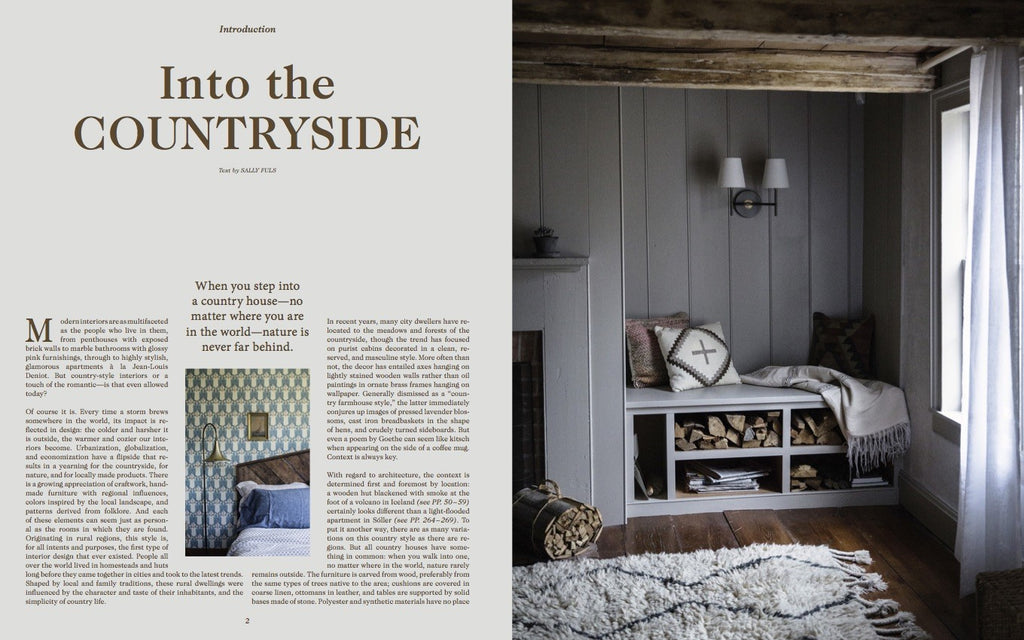 New Book : New Romance, Contemporary Countrystyle Interiors by Gestalten