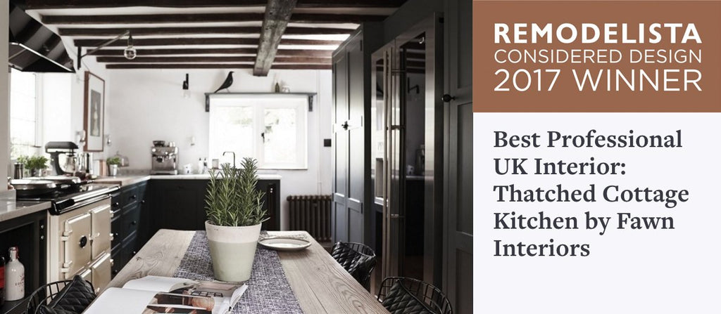 We won the 2017 Remodelista Considered Design Awards!